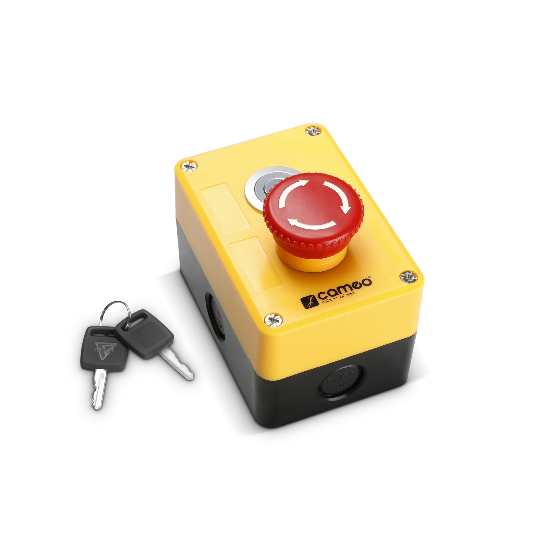 Cameo EKS XLR - Not-Aus mit Schlüsselverriegelung