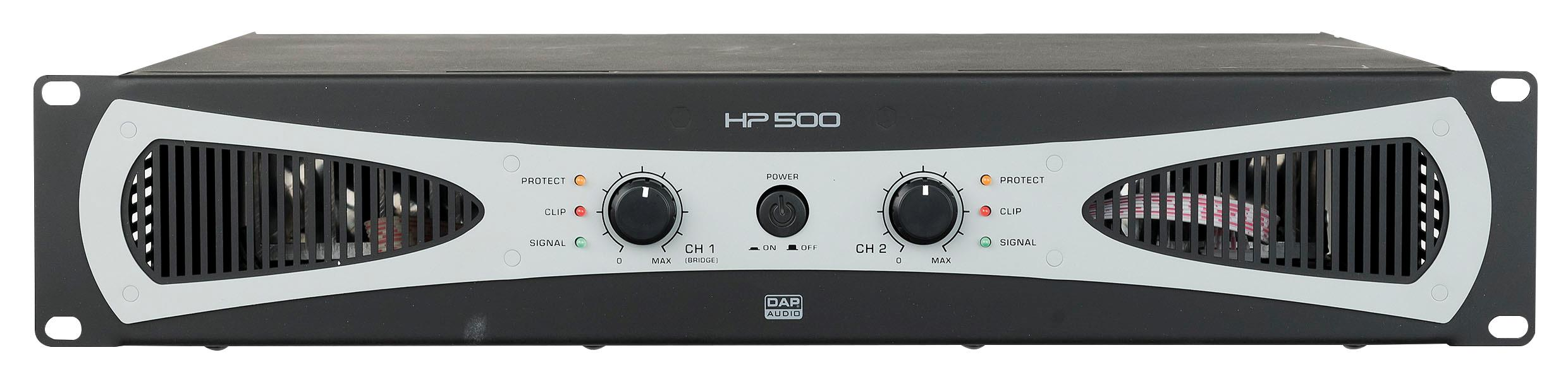 DAP HP- 500 2U 2X200w Amplifier