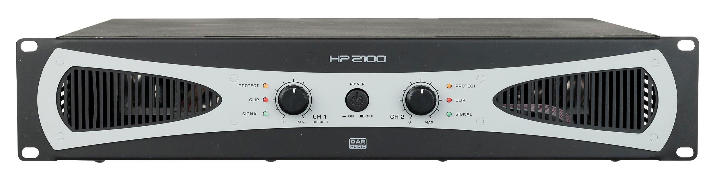 DAP HP-2100 2U 2X1000w Amplifier