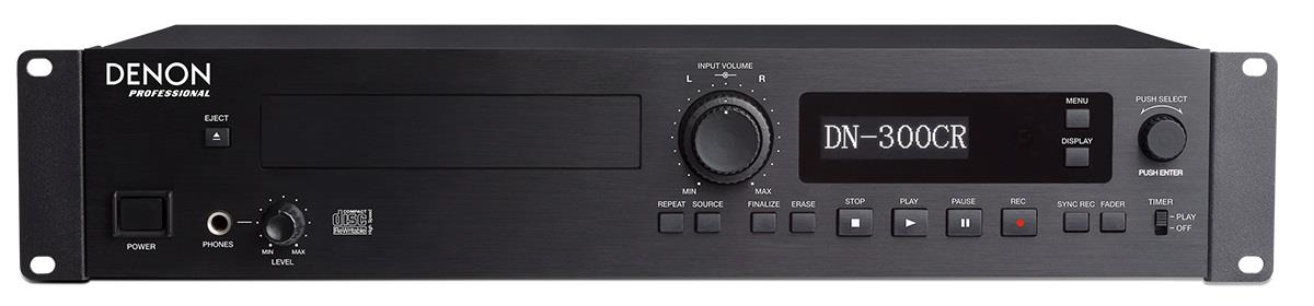 Denon Professional DN-300CR - Professioneller Audio CD-Recorder