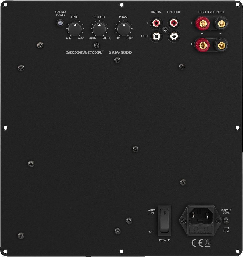 Monacor Digital-Verstaerker-Modul SAM-500D