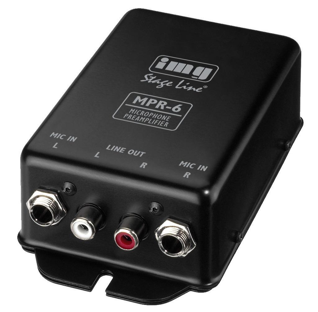 IMG STAGE LINE Mikrofonvorverstaerker MPR-6