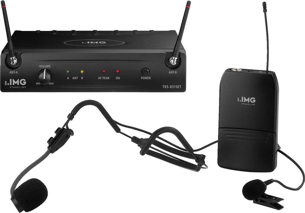 IMG STAGE LINE Audio-Übertragungssystem TXS-831SET