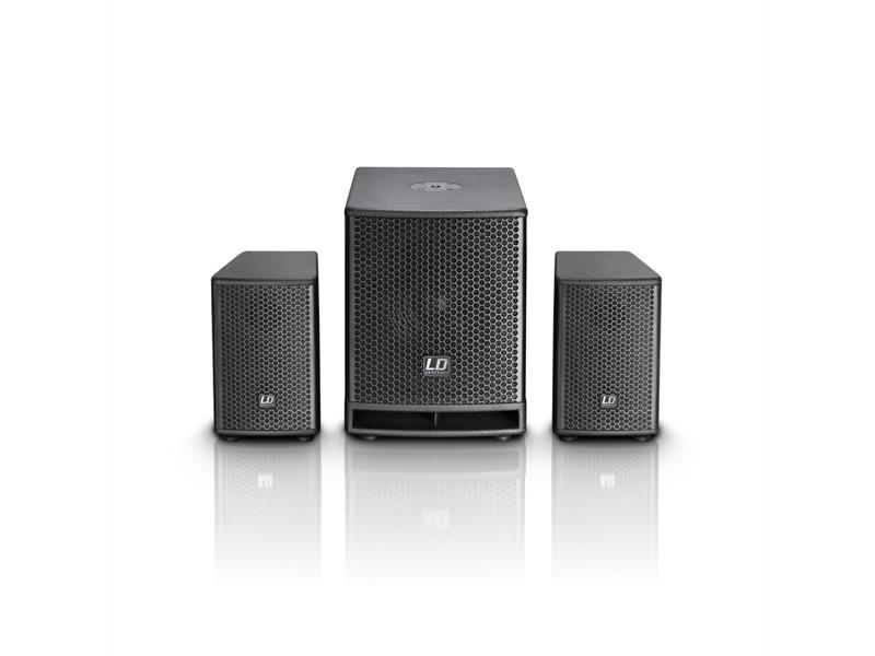 """LD Systems DAVE Gł Serie - Kompaktes 10"""" PA System aktiv"""