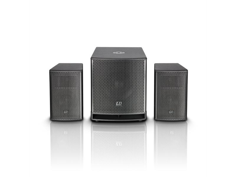 """LD Systems DAVE Gł Serie - Kompaktes 12"""" PA System aktiv"""