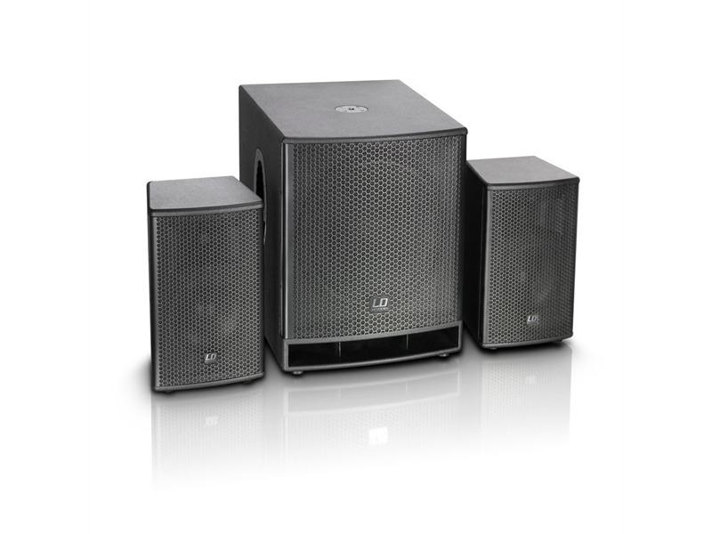 "LD Systems Dave 18 G3 - Kompaktes 18"" PA System aktiv"
