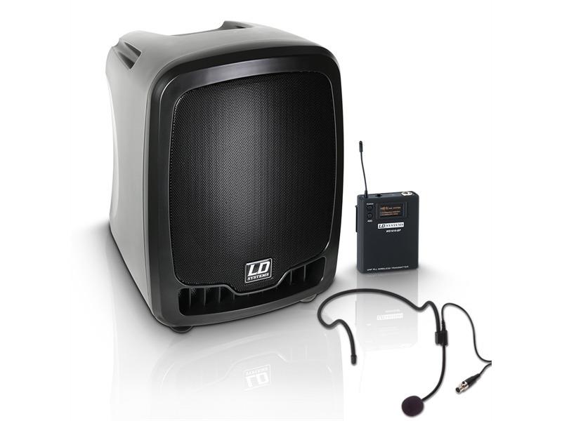 ld systems roadboy 65 mobiler pa lautsprecher mit headset. Black Bedroom Furniture Sets. Home Design Ideas