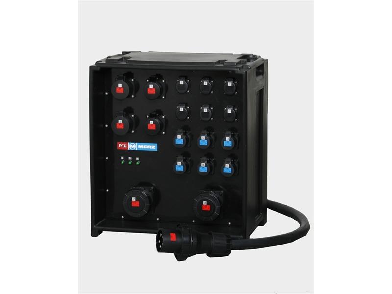 Merz Steckdosenverteiler EVENT 125A -SVE5-4 125/222-6-6/G/E