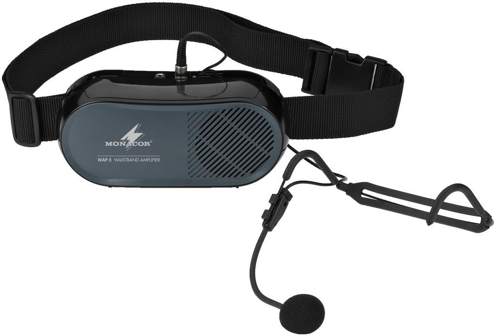 MONACOR WAP-5 Mobiler Sprachverstaerker