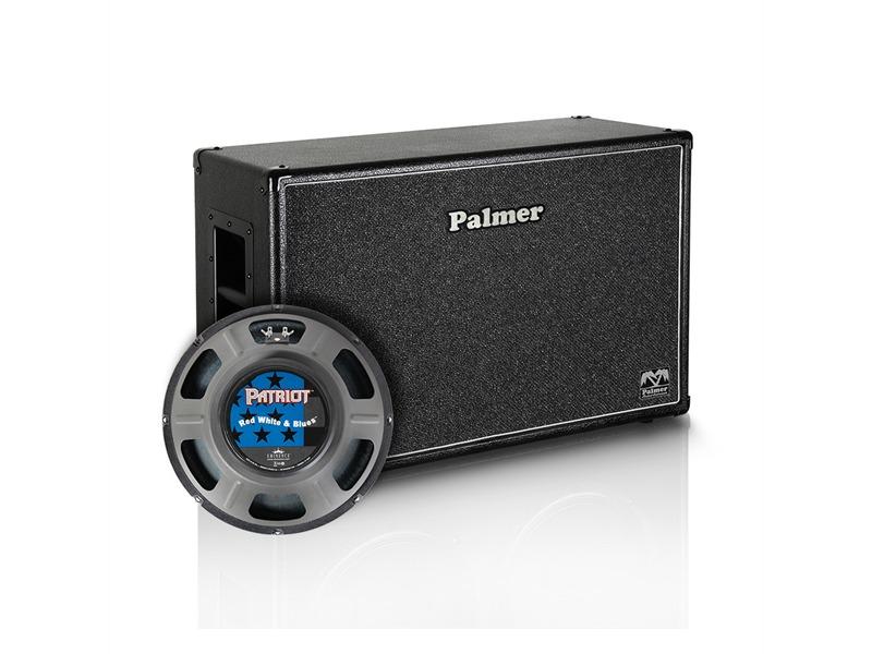 "Palmer MI Gitarrenbox 2 x 12"" mit Eminence Red White and Blues 4/8 Ohm Open Back"