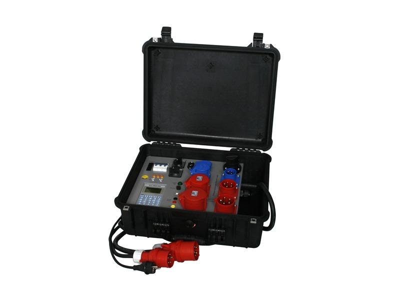 Merz PMKD 2500 Profiservicekoffer für Dreh- und Wechselstromverbraucher