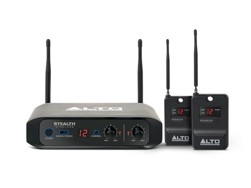 Alto Professional ALTO Stealth Wireless, Stereo Funkübertragungssystem für Aktive Lautsprecher