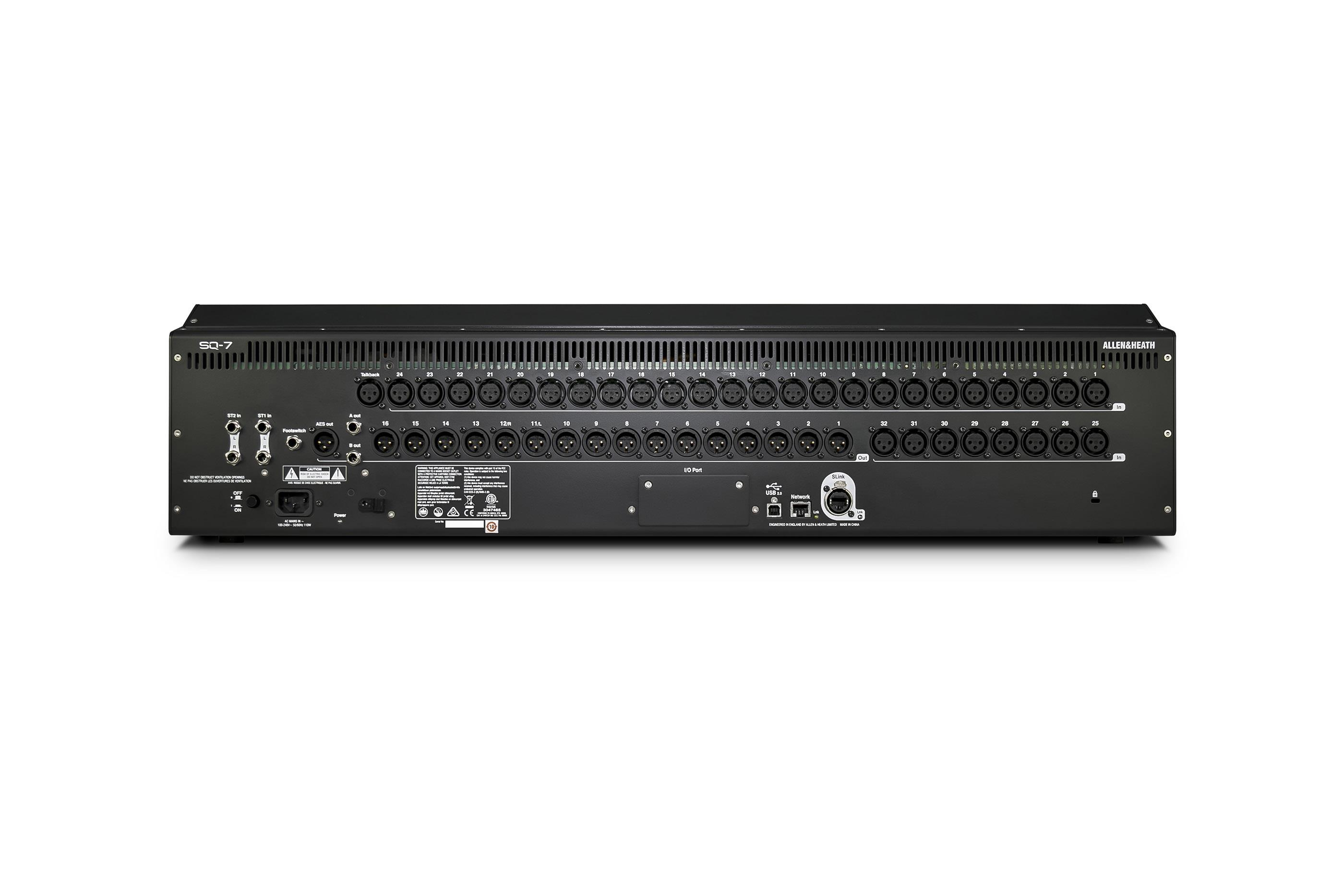 Allen Heath Sq 7 Digitales Mischpult 48 Channels 36 Busse Cat6 Patch Panel Besides 24 Port Further