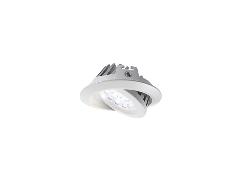 Kapego LED,TD36,15W,45°,6000 K,weiß,schwenkbar