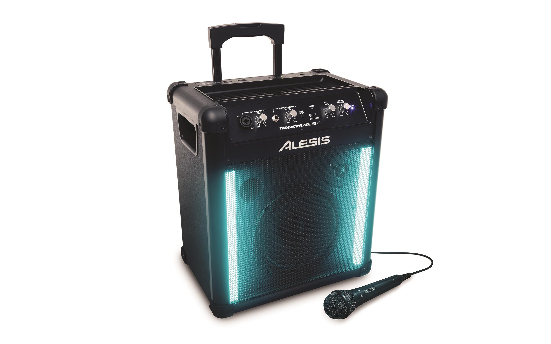 Alesis TransActive Wireless 2 Mobile PA-Anlage mit Bluetooth und Lightshow