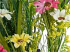 EUROPALMS Wildblumengirlande, künstlich, 140cm