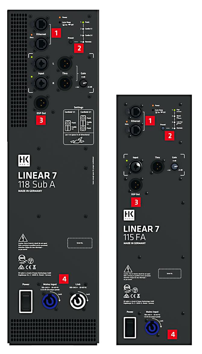 HK Linear7 Anschluesse