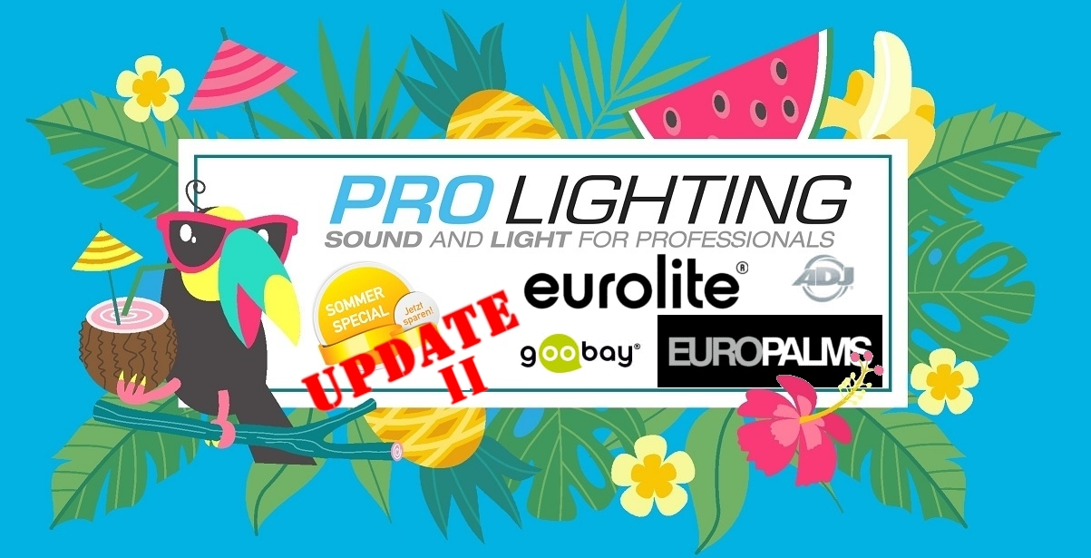 Pro Lighting Sommerspecial 2019